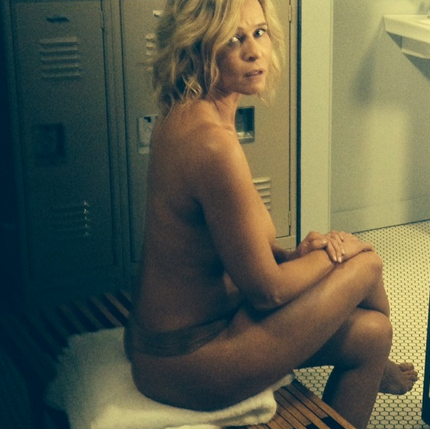 poses nude host tv