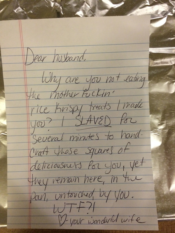 These Funny Love Letters Show What Marriage Is Really Like  Shemazing