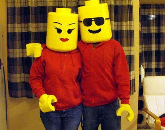 Lego Couple Perfect if you donu0027t want to look at your other half all nightu2026 & Epic couples Halloween costumes we NEED to re-create! | SHEmazing!