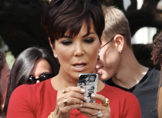 Kris Jenner Makes the Most of a Flattering Filter on ...
