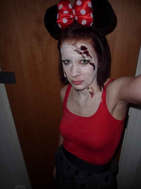Fancy dress shemazing zombify last years costume zombie red riding hood zombie pirate zombie minnie mouse the choices are endless 6 a ceiling fan aloadofball Image collections