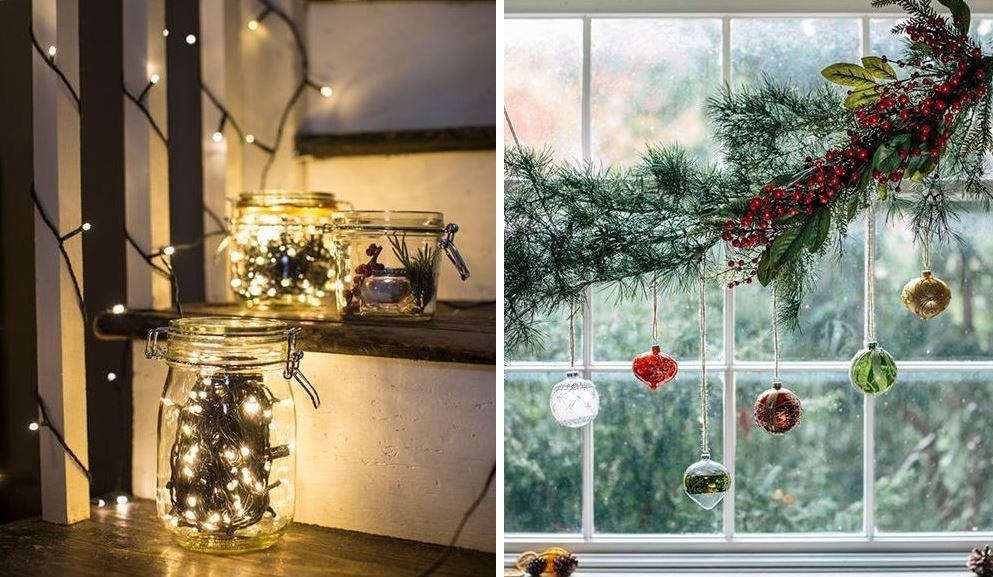 these jar lights may be our favourite diy decoration idea ever and really are so easy to put together all you need is a strand of battery powered fairy - Woodies Christmas Decorations