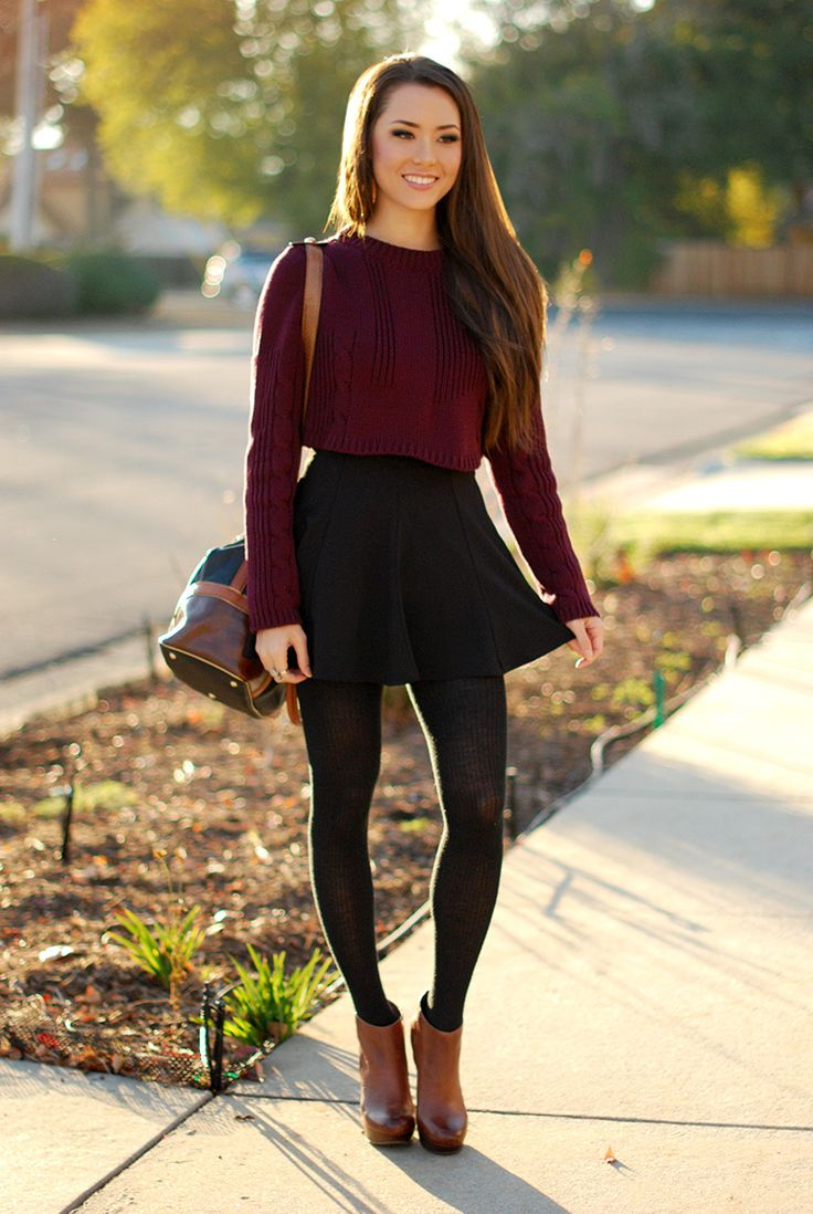 Short And Sweet How To Wear Cropped Sweaters Shemazing