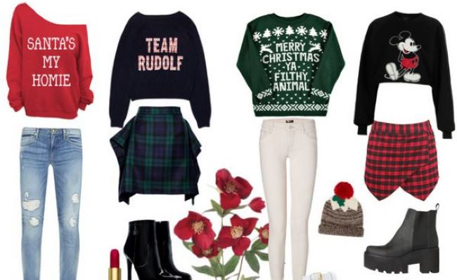 ways to wear this years christmas jumper - What To Wear For Christmas