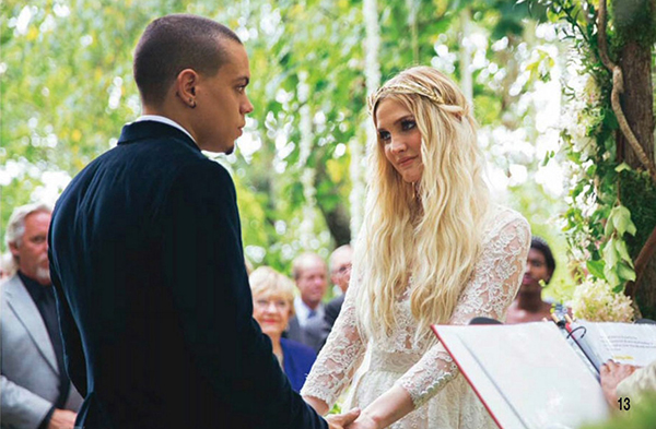 Ashlee simpson shemazing reflecting on the last twelve months in an interview in december actor and musician evan said i got married i have new music and im part of hunger junglespirit Gallery