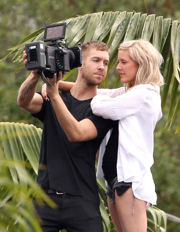 have calvin harris and ellie goulding dating