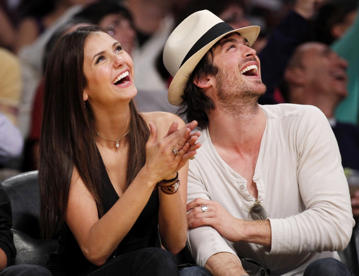 Damon and elena dating in real life 2012