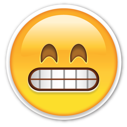 Have You Ever Used This As A Big Smiley Face Youre Wrong Again Its Grimacing Although It Really Looks Nothing Like Emojis Iphone