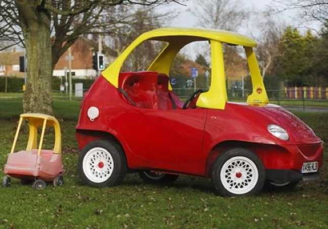 Your Favourite Childhood Toy Is Now A Real Car You Can Drive