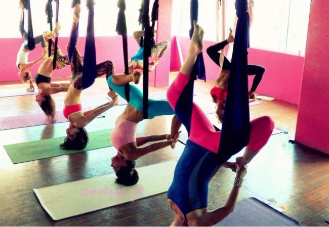 Aerial yoga dublin