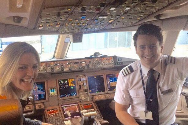 dating a female pilot