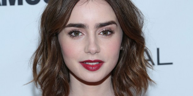 Image result for singer nick girlfriend lily collins