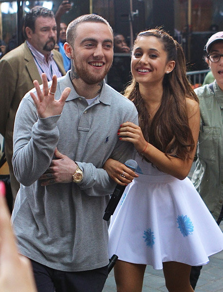 Ariana grande and mac miller dating 2013
