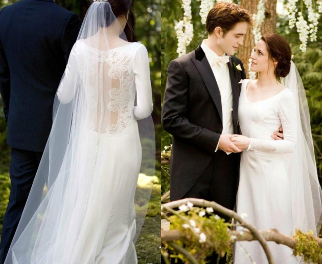Bella\'s dreamy WEDDING dress from Twilight is now up for grabs ...