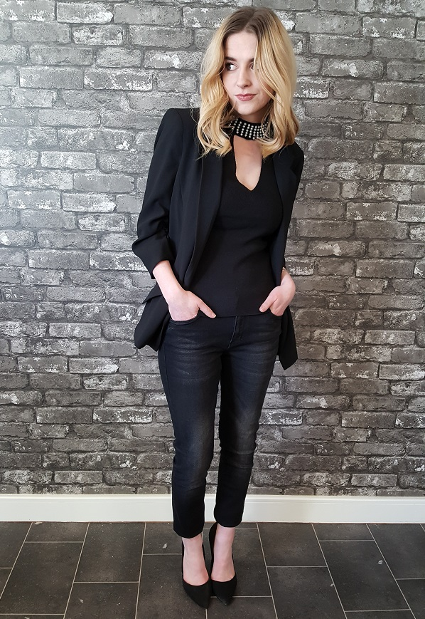 ec72be3e28 No more how to dress poco pippa jeans for the party season jpg 598x869  Black jeans