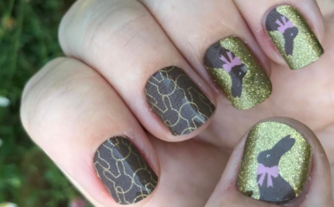 Bored Tonight These Cute Easter Nail Art Ideas Look Simply