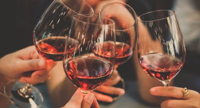 too much wine last night your brain worked hard while drinking it