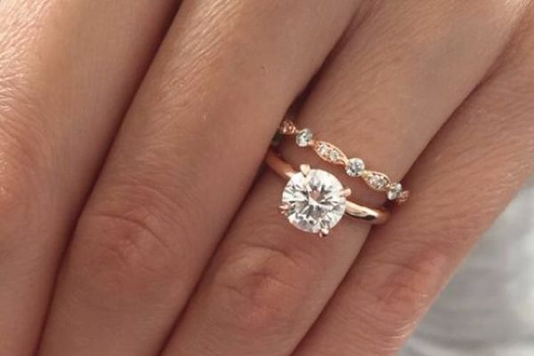 Rose gold engagement rings are the latest gorgeous wedding trend
