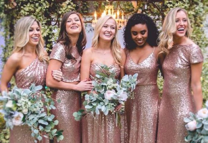 Rose Gold Wedding Theme 12 Fab Ideas From Decorations To Dresses
