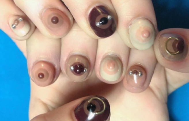 Yas Free The Nipple Nail Art Is Here To Normalize The Female Nipple
