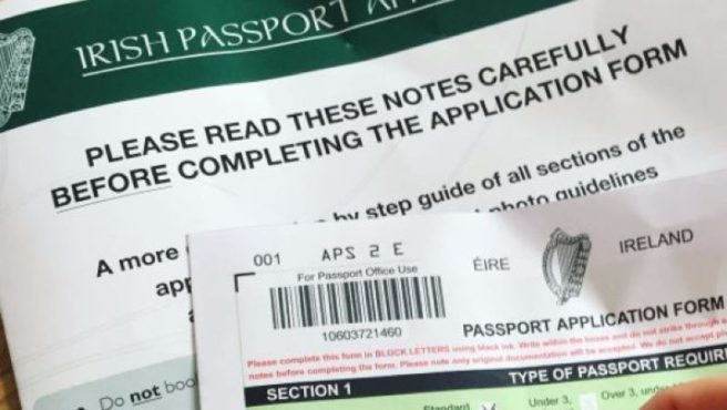 Passport And Pints Young Irish Men Urged To Swap Booklet For Card