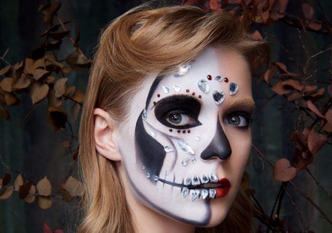 mermaid or sugar skull penneys has the best halloween makeup