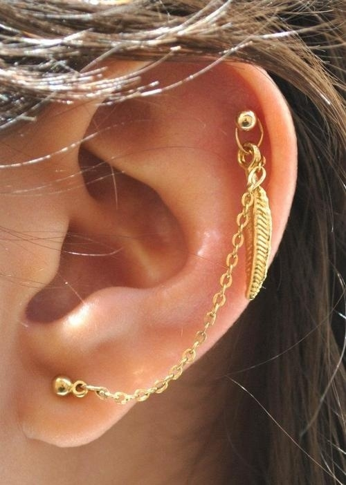 Cute 8 Gorgeously Subtle Ear Piercings That Everyone Should Try