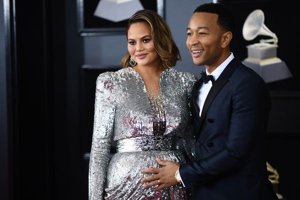 Kim Kardashian Threw Chrissy Teigen A Surprise Baby Shower - See The Pic