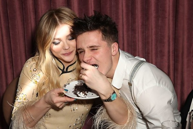Photos Capture Brooklyn Beckham Kissing Playboy Model Lexi Wood