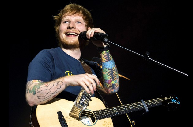 Ed Sheeran blasts reporter for tabloid fence fiction