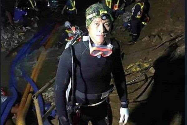 Widow of hero diver who died during Thai cave rescue urges the boys not to blame themselves
