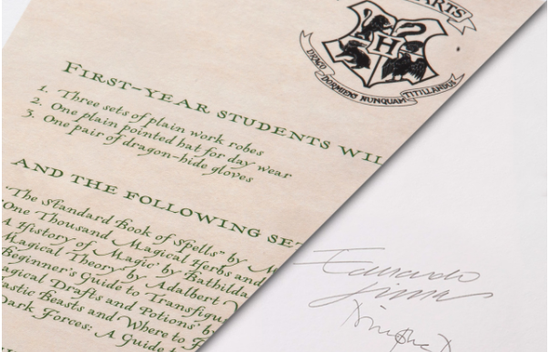 You Can Finally Get Your Very Own Hogwarts Letter