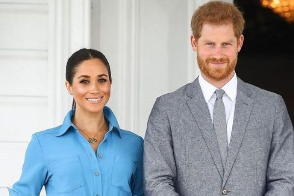 Duke and Duchess of Sussex chose wedding photograph for the traditional royal Christmas card