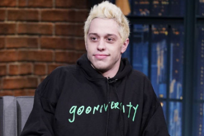 Pete Davidson Spotted Leaving The Golden Globes Afterparty With This Famous Actress